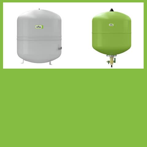1-Diaphragm expansion vessels