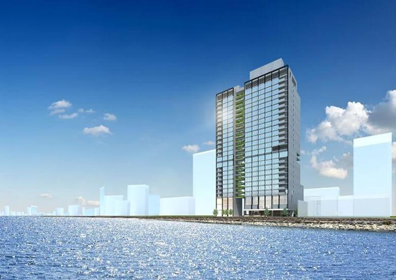 Marine drive hotel project